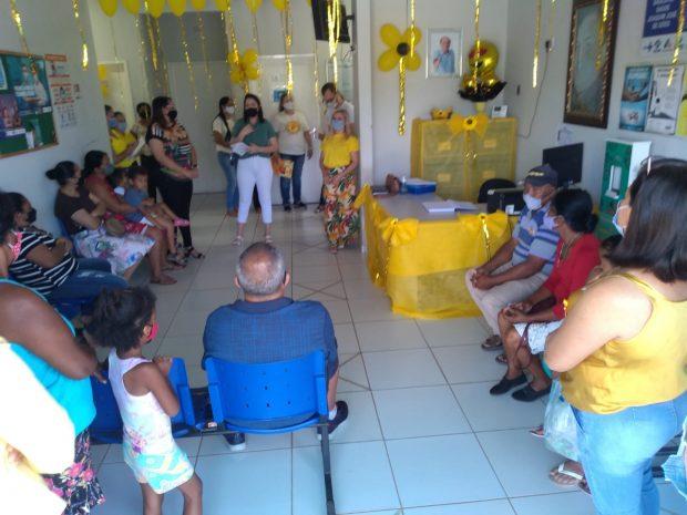 Secretaria de Saúde promove ação do Setembro Amarelo em Santa Cruz da Baixa Verde